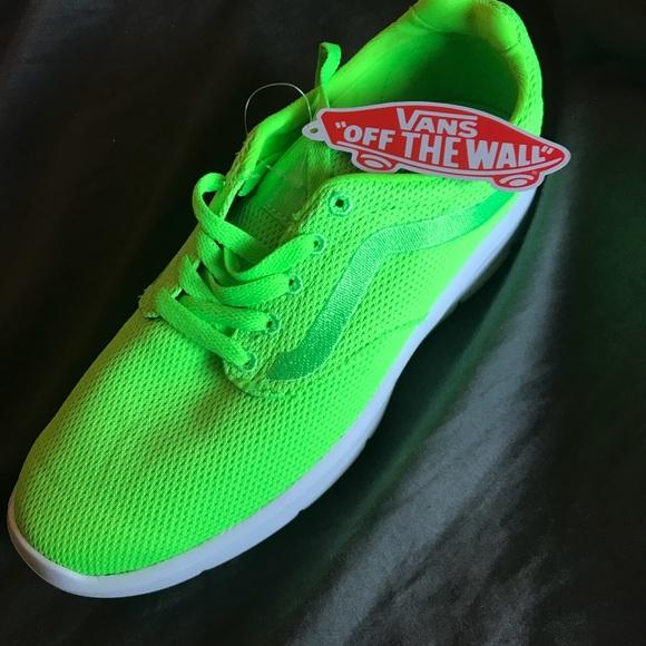 Vans Shoes   Bright Lime Green Vans